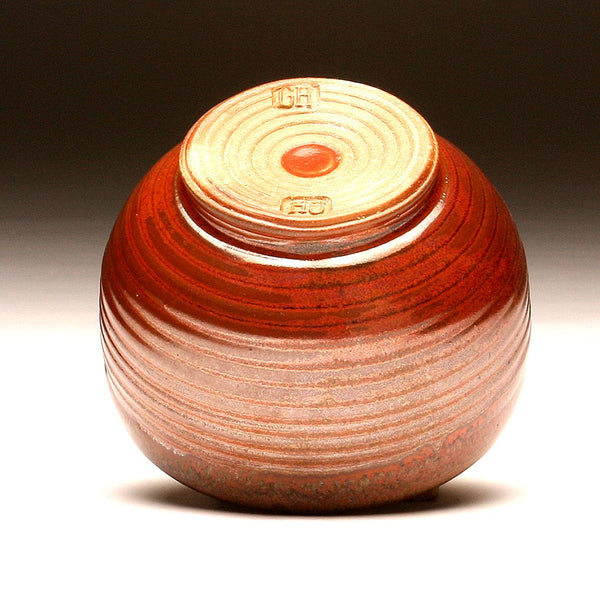 GH070 Small Woodfired Bowl in Persimmon