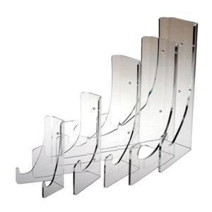 "PL014 Acrylic Plate Stand for 11"" D or small oval platters"