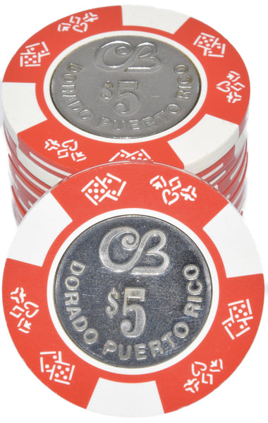 300 pc Cerromar Beach Bud Jones Coin Inlay Casino Chip Set