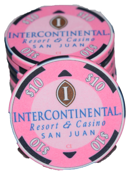 InterContinental $10 Chipco - 100 pieces