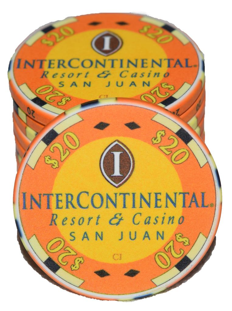 InterContinental $20 Chipco - 100 pieces