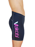 V Heat Paddle Short - Rasberry