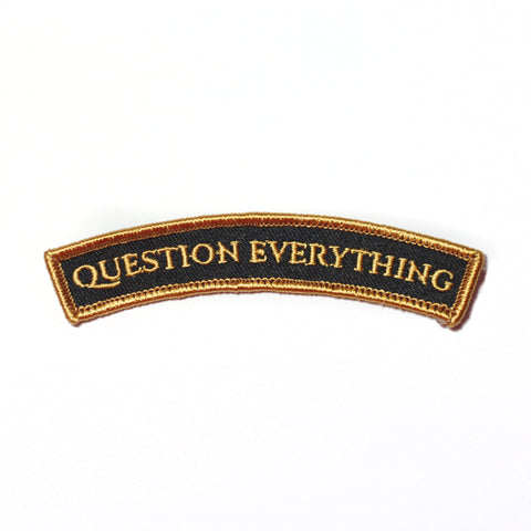 Question Everything patch