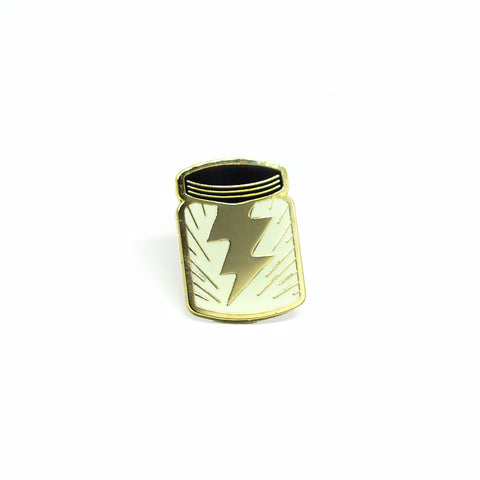 Lightning in a Bottle pin