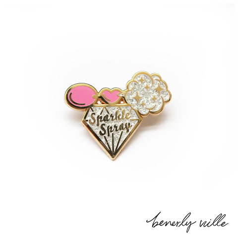 Sparkle Spray pin
