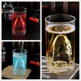 Shark Glass Cup