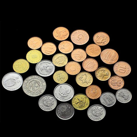 30 Coins from 30 Countries Replica Set