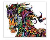 Horse Floral Wall Decal (60% OFF)