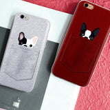 French Bulldog Pocket iPhone Case