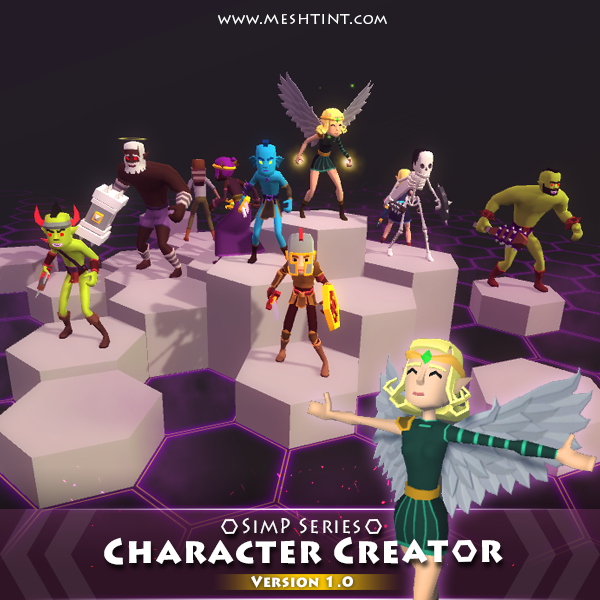 Tutorial: How to customize SimP Series characters in Unity?