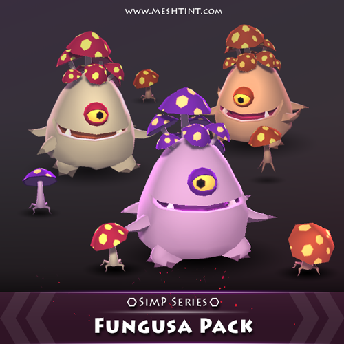 Fungusa Pack is now available in SimP style!