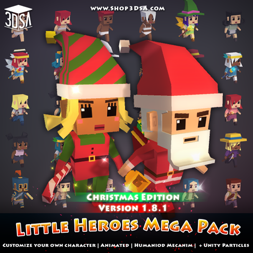 Little Heroes Mega Pack 1.8.1
