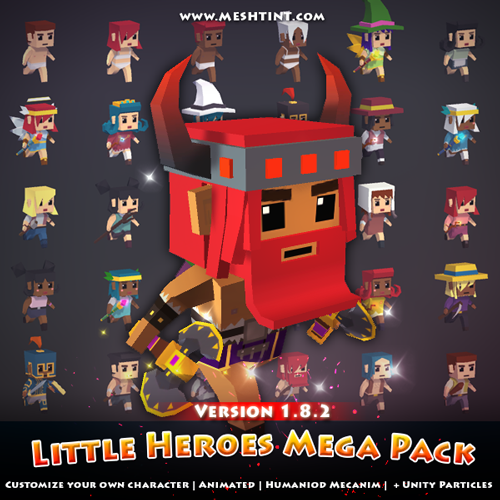 New content! Little Heroes Mega Pack 1.8.2