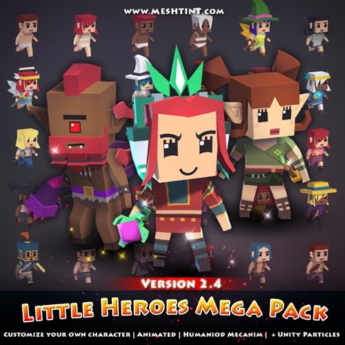 Little Heroes Mega Pack Latest update