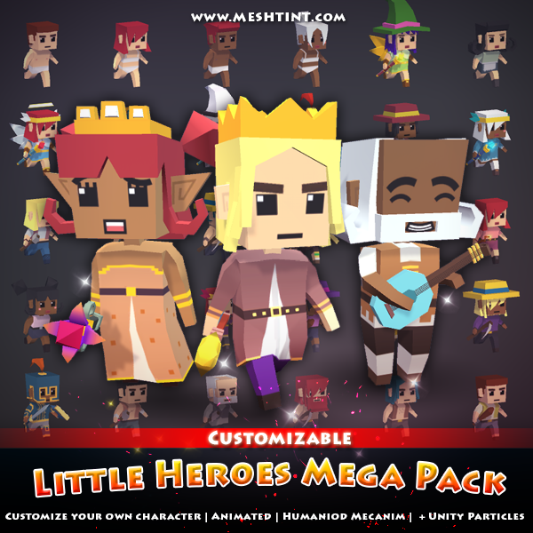 V2.6: LITTLE HEROES MEGA PACK updated, again!