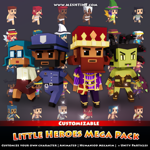 Huge pack Little Heroes Mega Pack price down!