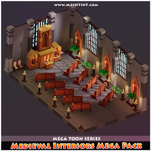 Medieval Interiors Mega Pack updated!