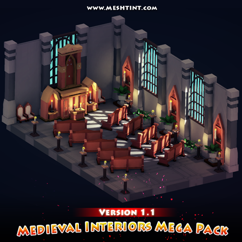 More scenes in Medieval Interiors Mega Pack V1.1