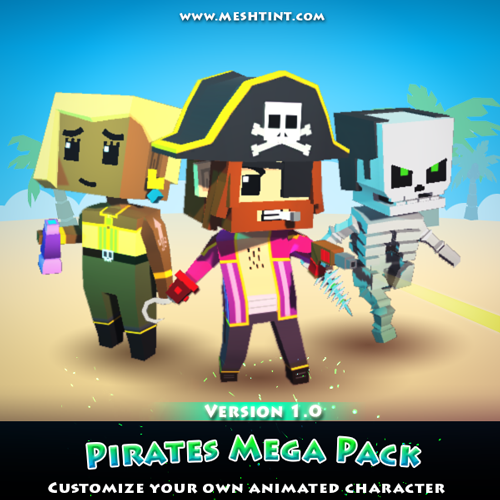 Pirates Mega Pack work in progress