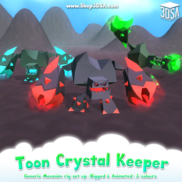New Mega Toon Crystal Keeper