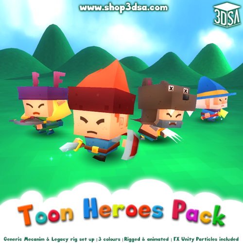 Toon Heroes Updated