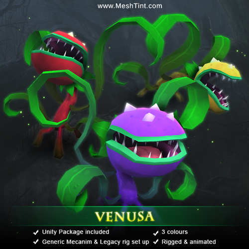 New Fantasy Pro Series Monster - Venusa
