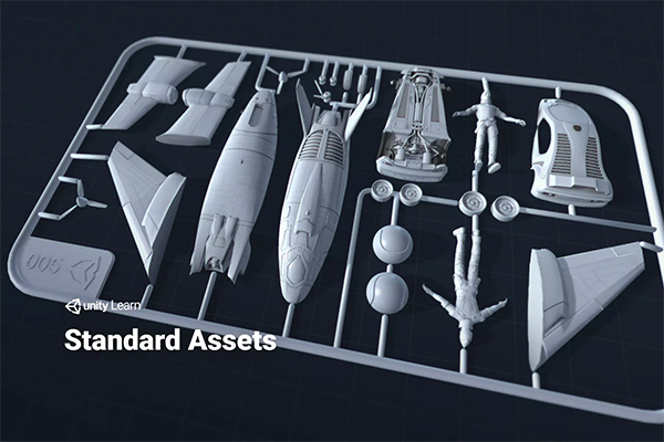 Tutorial: Missing Standard assets package in Unity