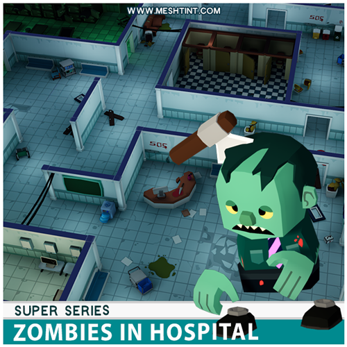 New Super Series Pack - Zombies in hospital!
