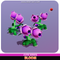 Bloom plant flower pea Meshtint 3d model unity low poly game fantasy creature monster