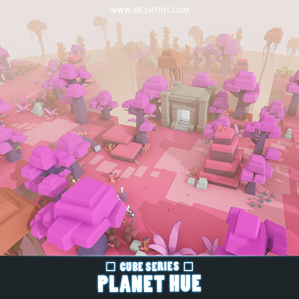 CUBE - Planet Hue Pack 1.1
