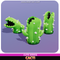 Cacti Cactus Cute Meshtint 3d model unity low poly game fantasy creature monster evolution evolve