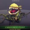 Carnivorous Plant 1.4 Mesh Tint Shop3DSA Unity3D Game Low Poly Download 3D Model