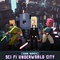 CUBE Sci Fi City Meshtint 3d model character unity low poly modular science fiction future robot