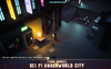 CUBE - Sci Fi Underworld City Pack 1.6 Mesh Tint Shop3DSA Unity3D Game Low Poly Download 3D Model