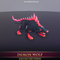Demon Wolf 1.3 Mesh Tint Shop3DSA Unity3D Game Low Poly Download 3D Model