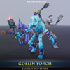 Goblin Torch - Mesh Tint - Shop3DSA - Unity - 3D - Game - Low - Poly - Model - Animation