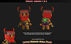 Little Heroes Mega Pack Mesh Tint Shop3DSA unity3d customize character 3D low poly