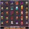 Little Heroes Modular Meshtint 3D model game Modular low poly 3D characters Humanoid mecanim Unity
