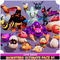 Monsters Ultimate Pack 01 Cute Series Mesh Tint Shop3DSA Unity3D Game Low Poly Download 3D Model