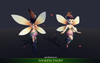 Nymph Fairy - Mesh Tint - Shop3DSA - Unity - 3D - Game - Low - Poly - Model - Animation