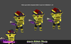 Orcs Mega Pack 1.3 Mesh Tint Shop3DSA Unity3D Game Low Poly Download 3D Model