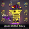 Orcs Mega Pack 1.5 Mesh Tint Shop3DSA Unity3D Game Low Poly Download 3D Model