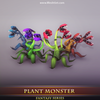 Plant Monster - Mesh Tint - Shop3DSA - Unity - 3D - Game - Low - Poly - Model - Animation