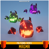 Polygonal - Magma Mesh Tint Shop3DSA Unity3D Game Low Poly Download 3D Model