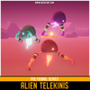Polygonal - Alien Telekinis Mesh Tint Shop3DSA Unity3D Game Low Poly Download 3D Model