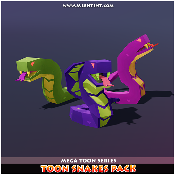 Toon Snakes Pack 1 1