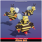 Sting Bee Mega Toon Meshtint 3d model modular character unity low poly game fantasy creature monster