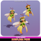 Sunflora Pixie Cute Sunflower Fairy Meshtint 3d model unity low poly game fantasy creature monster