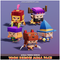 Toon Heroes Mega Pack Mesh Tint Shop3DSA Unity3D Game Low Poly Download 3D Model
