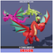 Toon Dragon 1.1 Mesh Tint Shop3DSA Unity3D Game Low Poly Download 3D Model